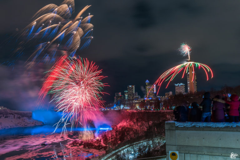 Niagara Falls New Year (2018)